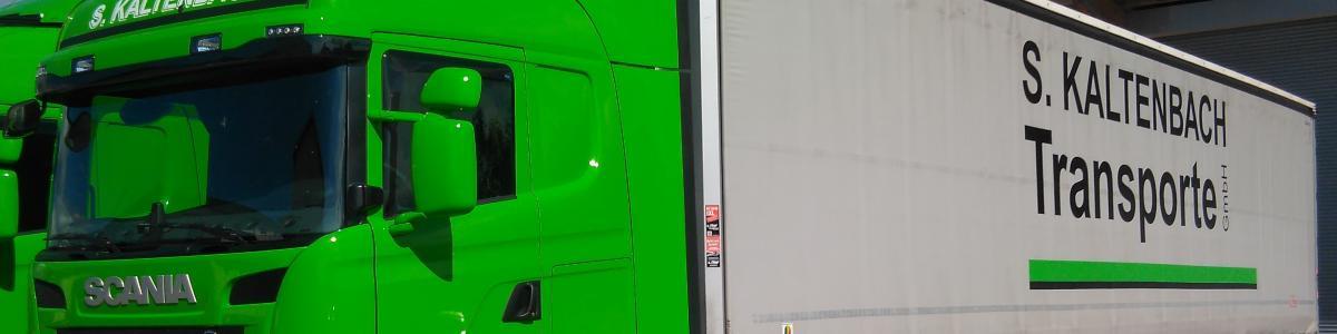 S. Kaltenbach Transporte GmbH cover