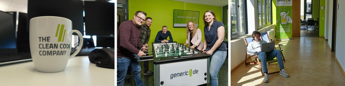 generic.de software technologies AG cover